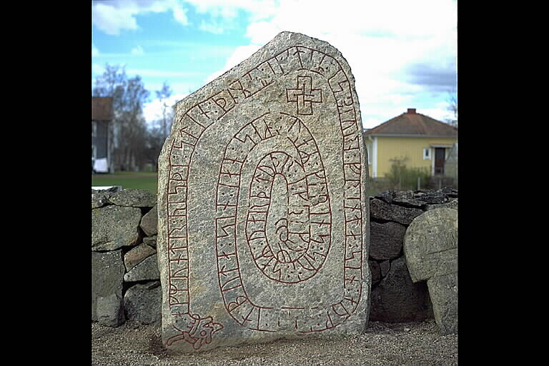 Runes written on runsten. Date: V